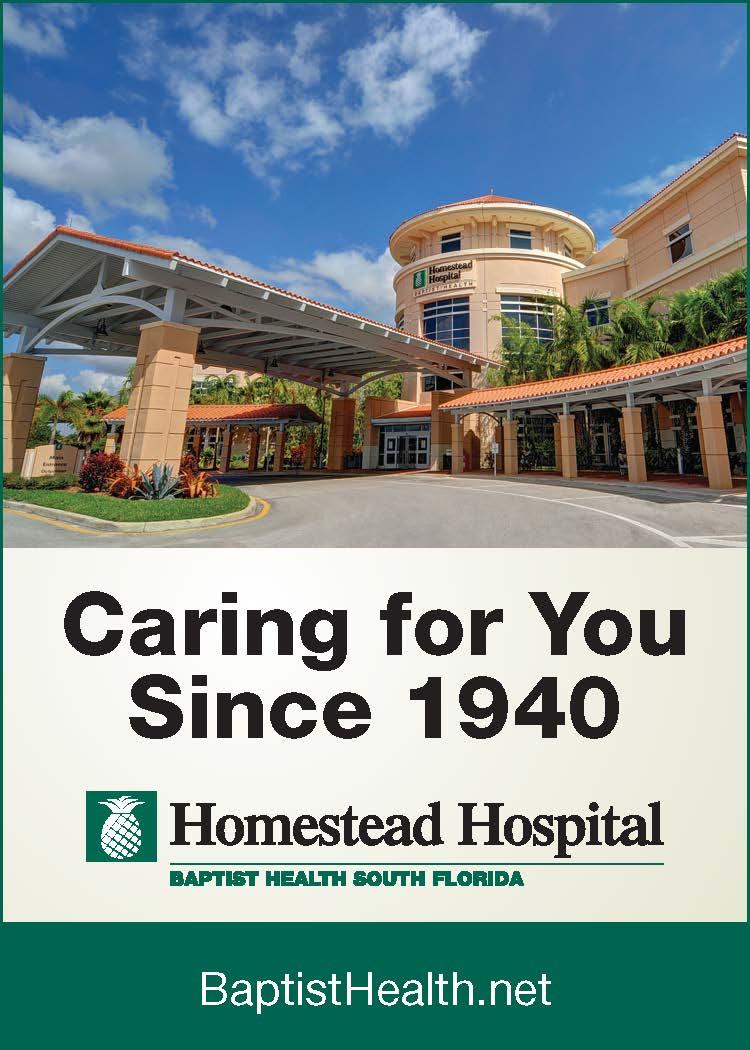 Homestead Hospital Mujer Ad 2014